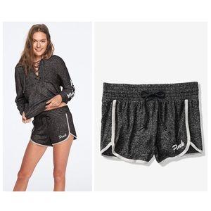 VS PINK Cozy High Waist Shorts